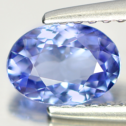0.72 Ct. VVS Oval Natural Gem Violet Blue Tanzanite