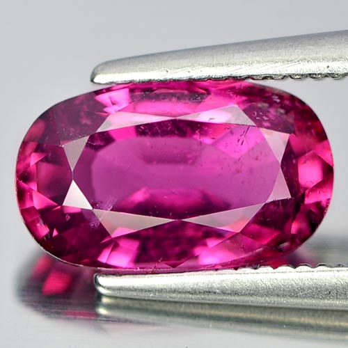 Unheated 1.83 Ct. Oval Natural Gem Pink Rubellite From Nigeria