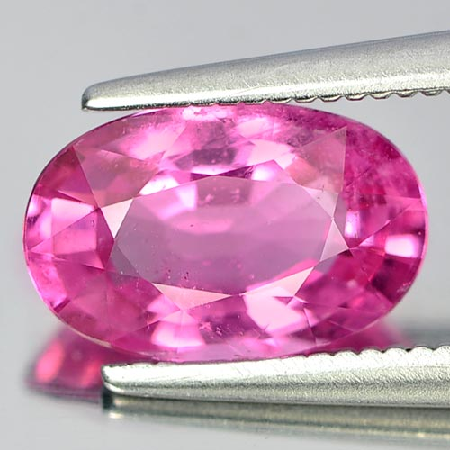 Unheated 1.74 Ct. Oval Natural Gem Pink Rubellite From Nigeria