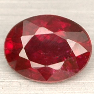 0.56 Ct. Beautiful Natural Red RUBY Madagascar Gems