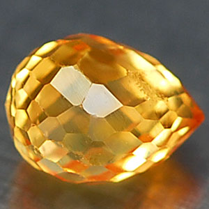 0.40 Ct. Twinkling Clean Natural Yellow Sapphire Gem
