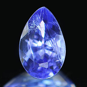 0.26 Ct. Impressive Natural Violet Blue Tanzanite Gem