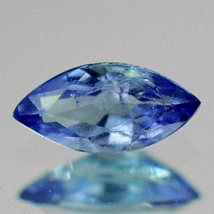 0.23 Ct. Winsomely Oval Natural Violet Blue Tanzanite