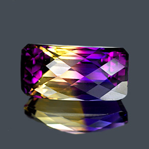 17.39 Ct. Clean Hydrothermal Bi Color Ametrine Unheated