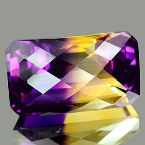 28.75 Ct. Clean Hydrothermal Bi Color Ametrine Unheated