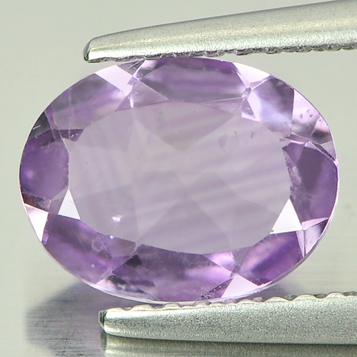 1.38 Ct. Nice Oval Natural Violet Amethyst Unheated