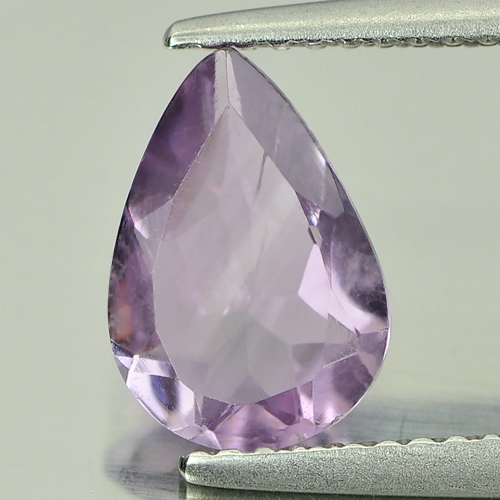 1.23 Ct. Calibrate Size Pear Natural Purple Amethyst