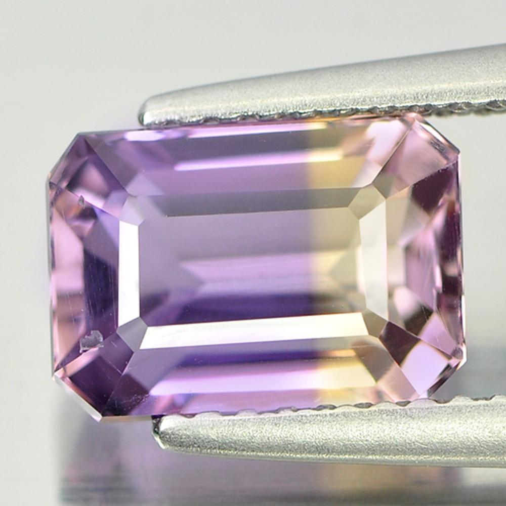 2.52 Ct. Natural Gemstone Bi Color Ametrine Octagon Unheated