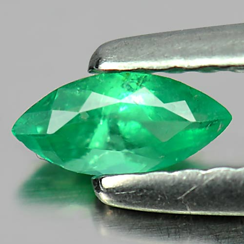 0.18 Ct. Marquise Shape Natural Gemstone Green Emerald Unheated