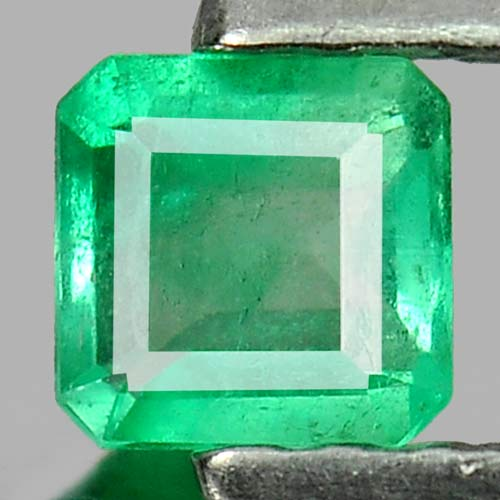 0.17 Ct. Natural Gemstone Green Emerald Octagon Cut Unheated