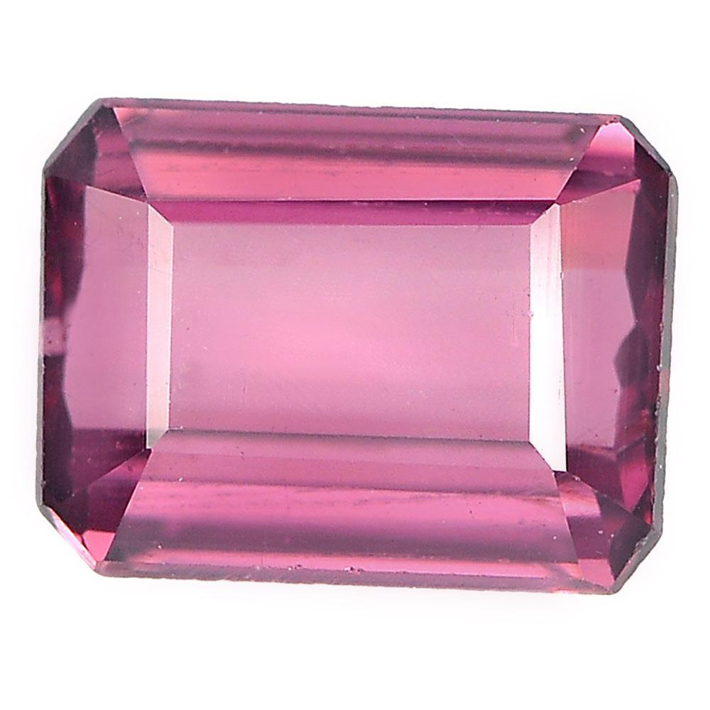1.11 Ct. Beauteous Gem Natural Purplish Pink Rhodolite Garnet Octagon Shape