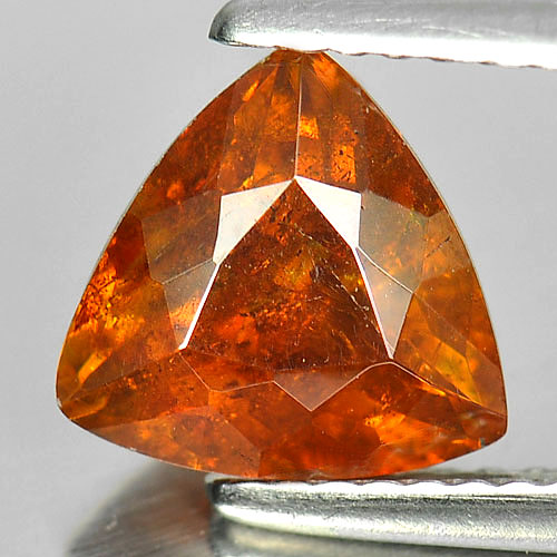 Certified 2.20 Ct. Trilliant Natural Gem Yellow Sphalerite Unheated