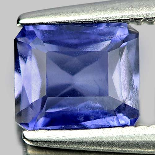 0.75 Ct. Charming Natural Gem Violet Blue Iolite Octagon Shape