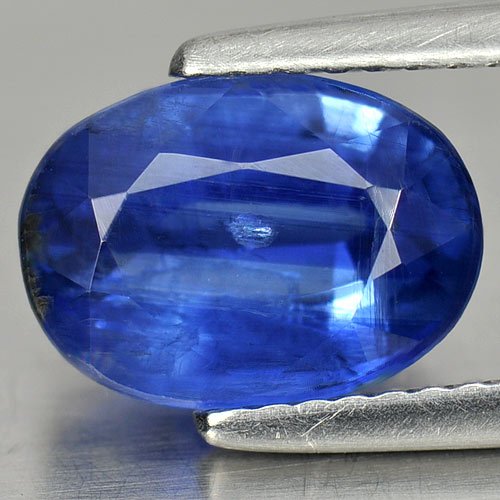 2.97 Ct. Oval Shape Natural Gemstone Blue Kyanite Unheated