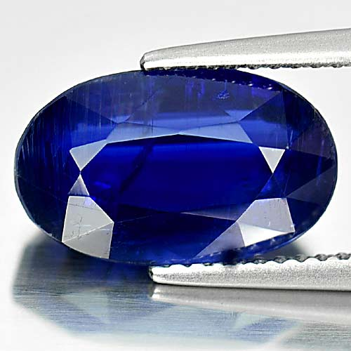 Unheated 6.00 Ct. Charming Natural Gem Blue Kyanite Oval Shape