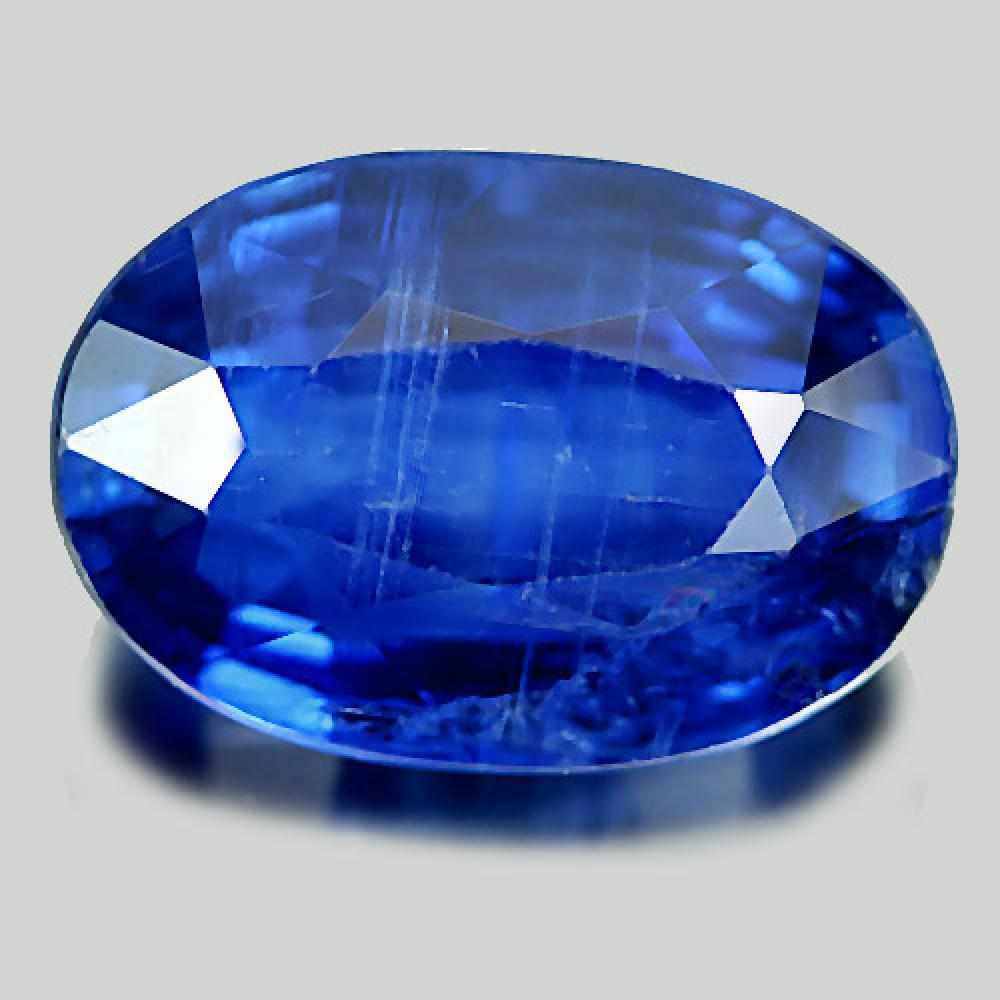 7.11 Ct. Attractive Natural Gem Blue Kyanite Oval Shape