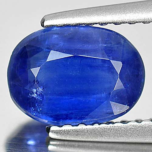 1.61 Ct. Charming Oval Shape Natural Gemstone Blue Color Kyanite