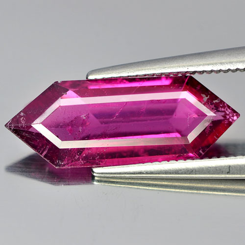 2.58 Ct. Oval Natural Gem Purplish Pink Rubellite Unheated