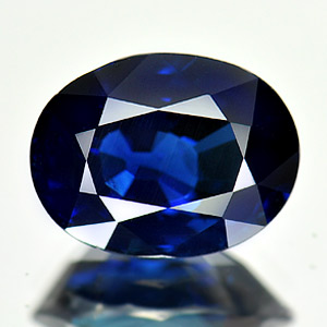 Certified 5.10 Ct Oval Natural Blue Sapphire Madagascar