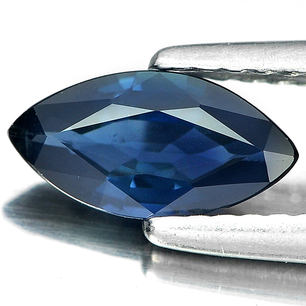 0.84 Ct. Marquise Shape Natural Gemstone Blue Sapphire From Thailand