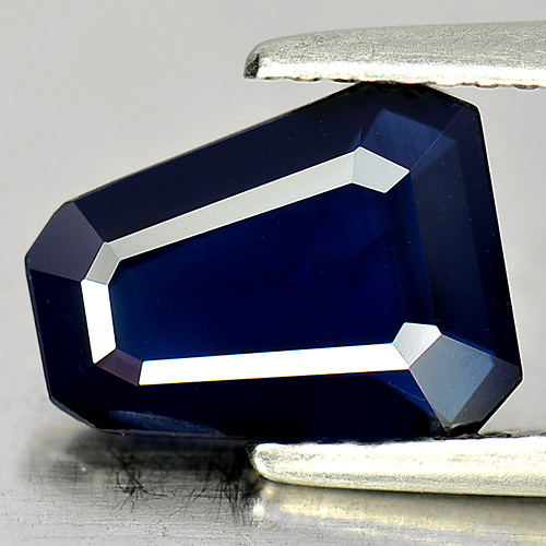 2.25 Ct. Good Gemstone Natural Blue Sapphire Fancy Shape