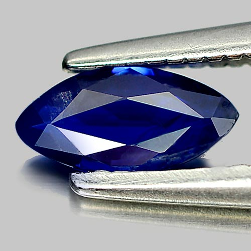0.35 Ct. Attractive Gem Natural Deep Blue Sapphire Marquise Shape