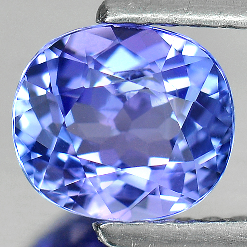 1.07 Ct. Oval Shape Natural Violetish Blue Tanzanite