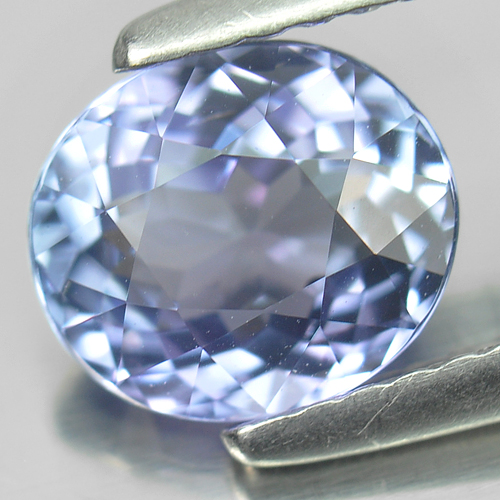 1.43 Ct. Oval Shape Natural Violetish Blue Tanzanite