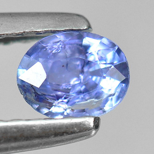 0.29 Ct. Oval Shape Natural Violetish Blue Tanzanite