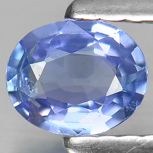 0.33 Ct. Oval Shape Natural Violetish Blue Tanzanite