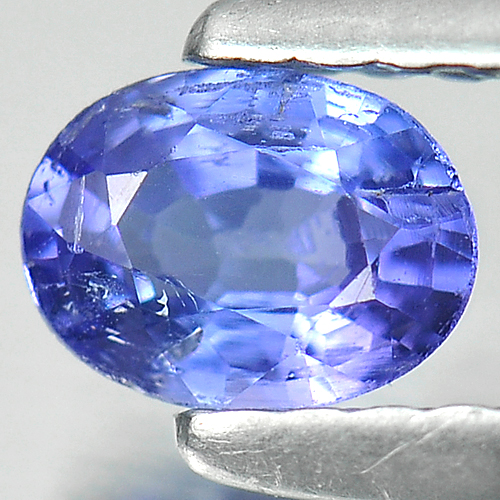 0.34 Ct. Oval Shape Natural Violetish Blue Tanzanite