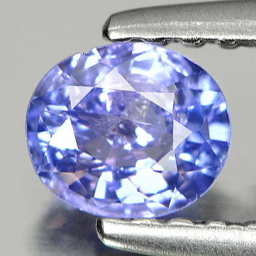 0.35 Ct. Oval Shape Natural Violetish Blue Tanzanite