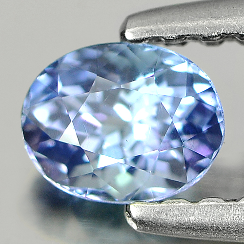 0.36 Ct. Oval Shape Natural Violetish Blue Tanzanite