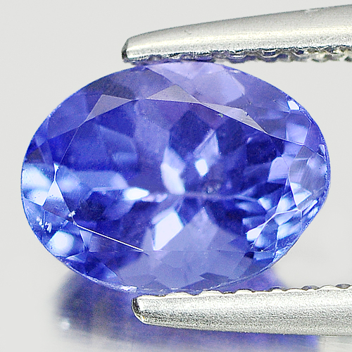1.55 Ct. Natural Violetish Blue Tanzanite Gemstone Oval Cutting From Tanzania