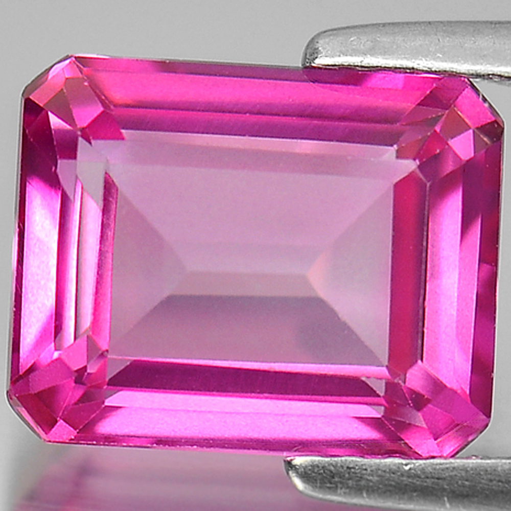 3.97 Ct. Calibrate Size Octagon Shape Natural Gemstone Pink Topaz From Brazil