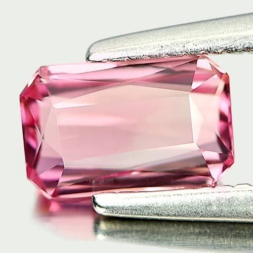 Good Natural Gem 0.63 Ct. Octagon Shape Pink Tourmaline Nigeria