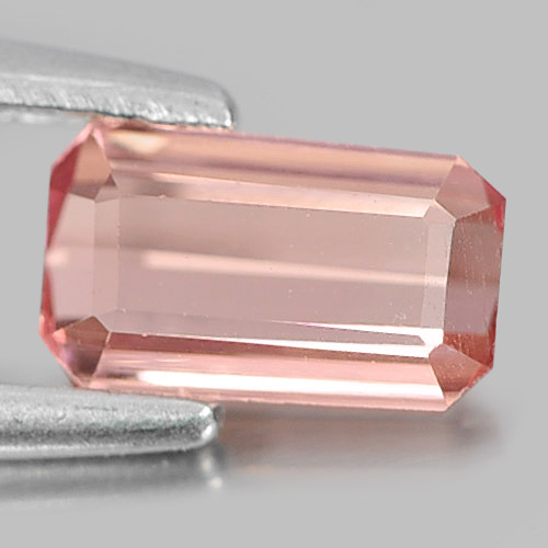 0.45 Ct. Delightful Octagon Natural Gem Pink Tourmaline From Nigeria