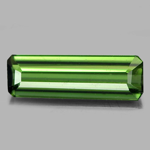 0.46 Ct. Attractive Octagon Natural Gem Green Tourmaline From Nigeria
